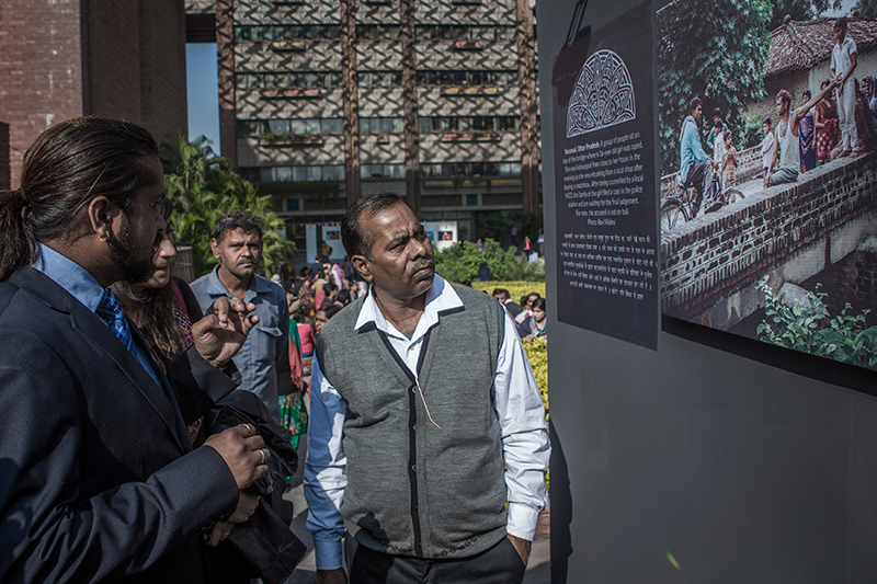 Father of Jyoti Singh Pandey, whose brutal rape and murder launched mass protests across India in 2012, attended in memory of the three year anniversary of the Delhi Gang Rape that shook the conscience of a nation.
