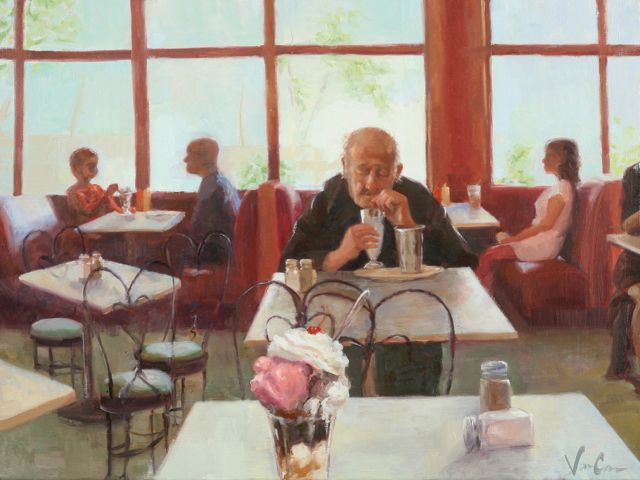 When We Sit Alone, 2012, Abigail VanCannon, Oil, 18x24.jpg