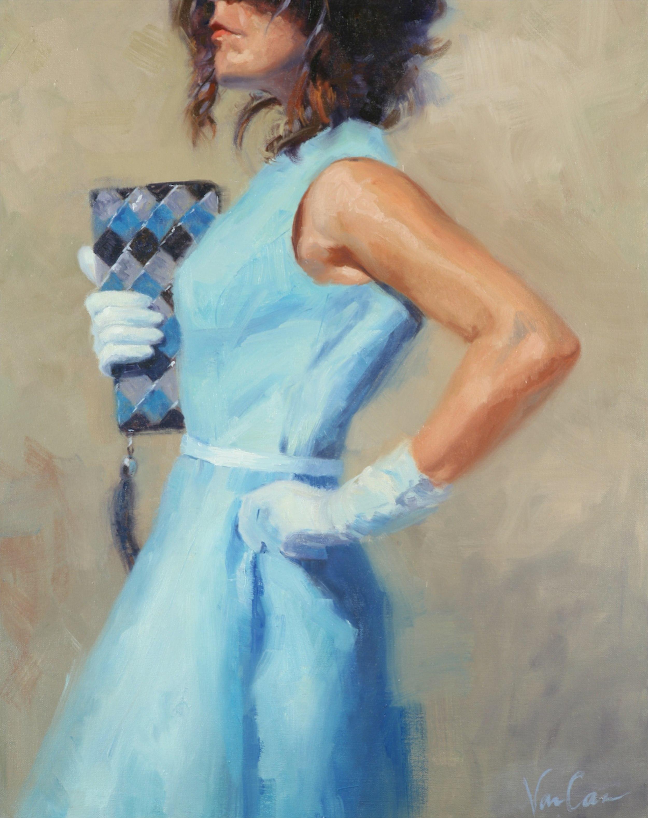 La Beaute, Oil on Canvas, Starting Bid $350 Value: $1700.00