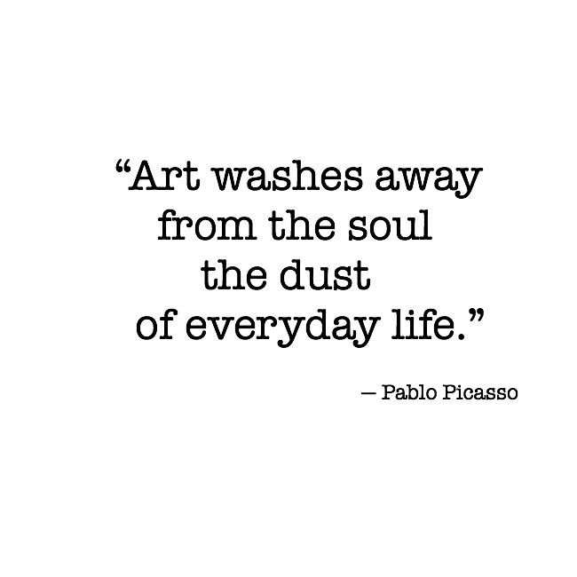 author Pablo Picasso - Credit to Pinterest