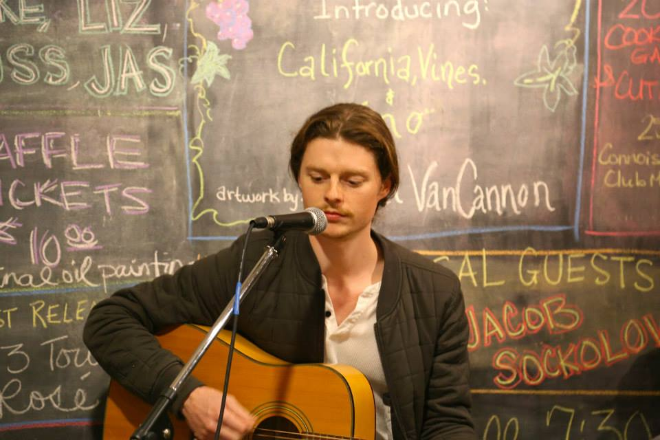 Jacob Sockolov singer and songwriter performed Sat. Night