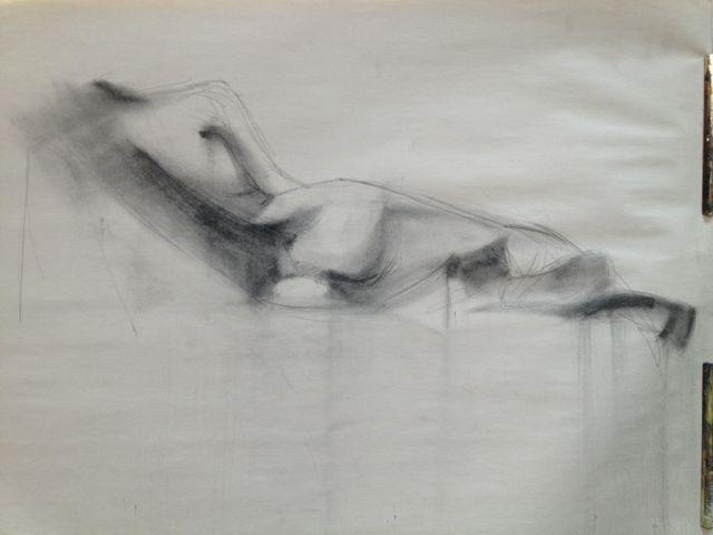15 min sketch from life #patrisstudios