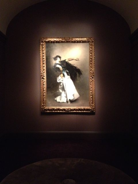 John Singer Sargent - The Spanish Dancer - Oil on Canvas