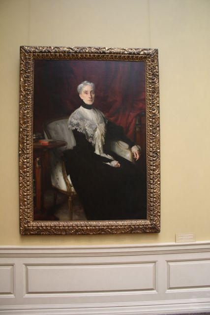 John Singer Sargent - Mrs. William Crowninshield Endicott - Oil on Canvas - National Gallery of Art