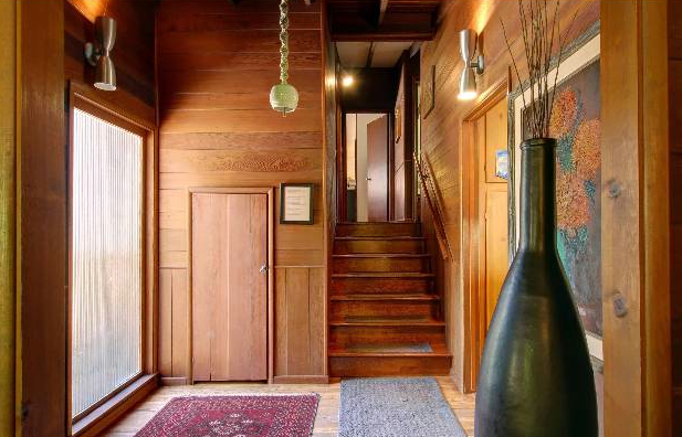 If you like wood... This is your house.