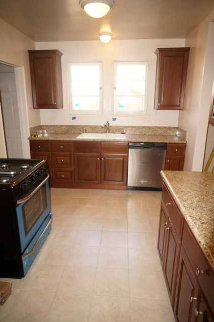 New Kitchen With New Appliances