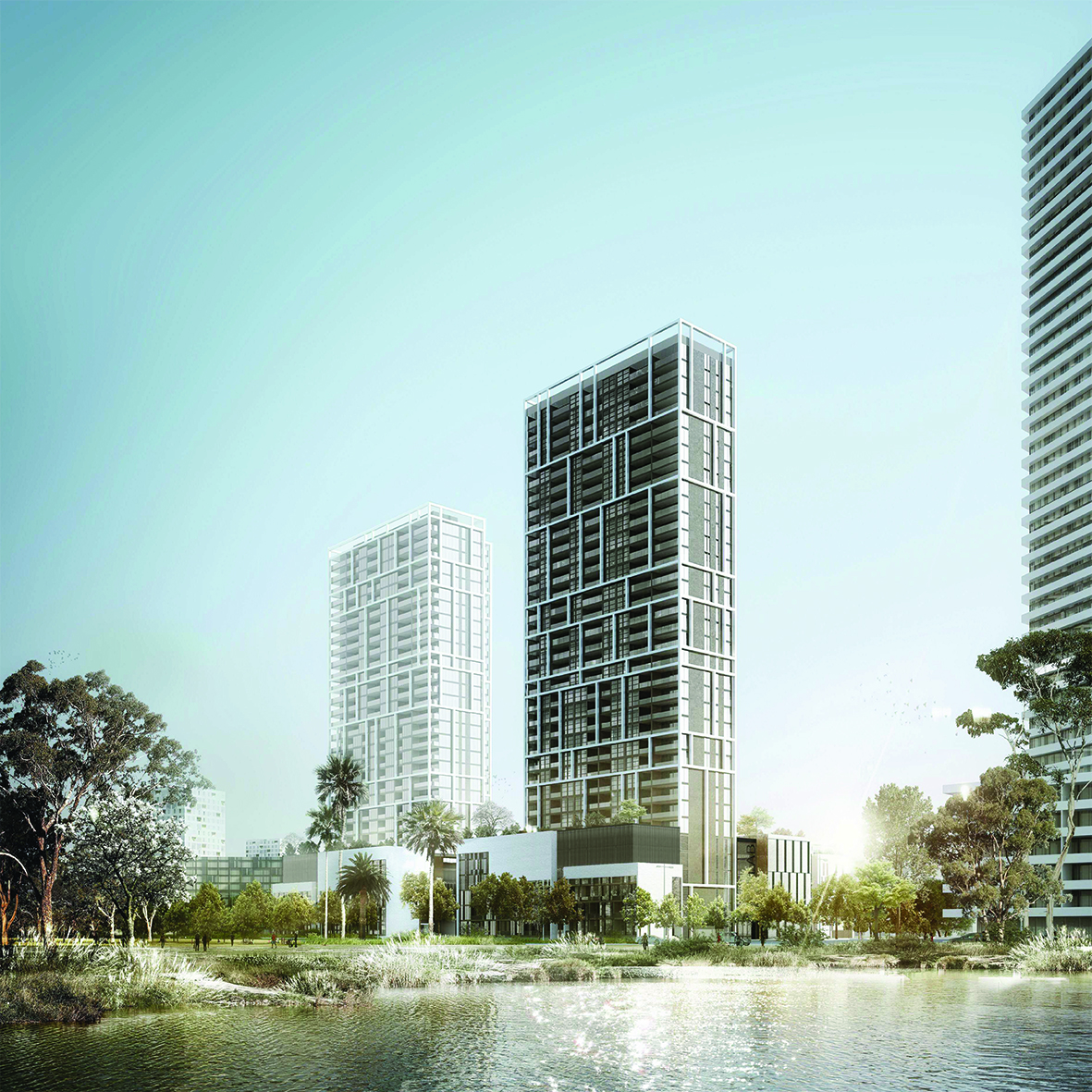 + Waterbank Building C - Landscape [Multi Residential]