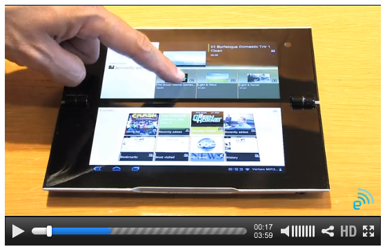 """I have to give Sony points for making a tablet that is decidedly NOT tablet shaped. But the dual screens seem a bit small, and I cannot tell whether the form factor is just a novelty or actually a useful design. You can read about it (and its more standard shaped counterpart the """"Tablet S"""") from  Computerworld here , or read about the """"Tablet P"""" and watch a - for some reason silent - demo video from  Engadget here ."""