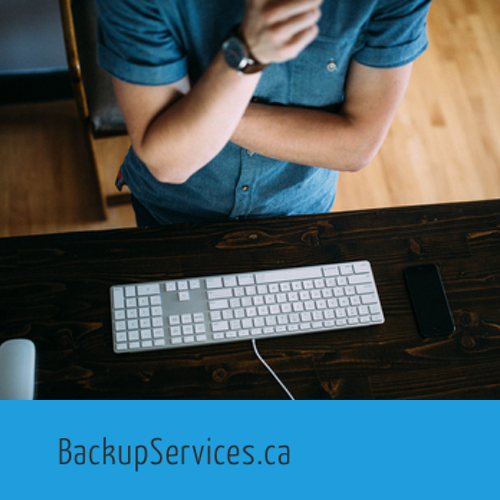 Des built the site for BackupServices.ca with Squarespace.