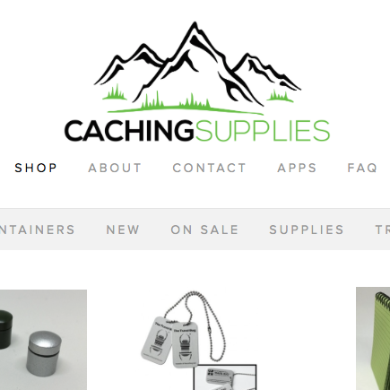Matthew made his geocaching supply sales site using Squarespace. In five hours. Seriously.