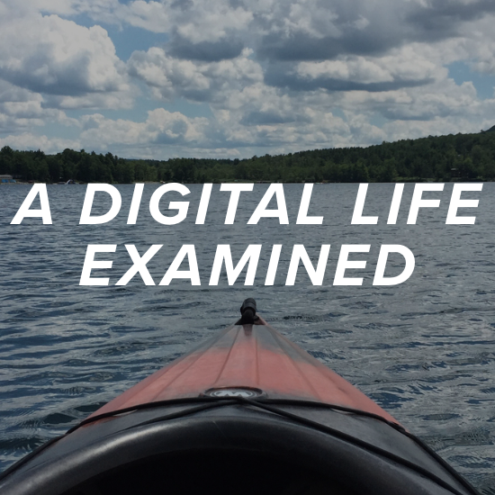 """Check out Tom's """"A Digital Life Examined"""" - built with Squarespace."""