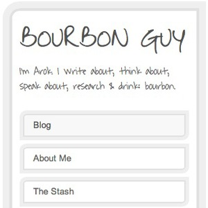 Arok's a bourbon guy. He made his site with Squarespace. Seriously, what's not to like?