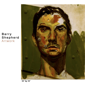 Barry built a Squaresapce site to showcase his art work