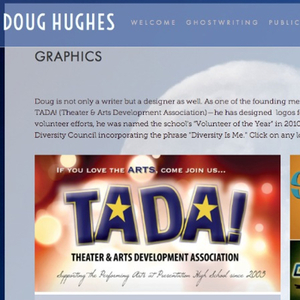 Check out Doug's graphics and video work on his site made with Squarespace!