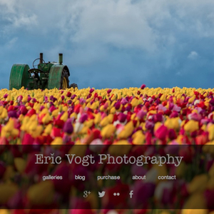 Take a look at Eric Vogt Photography, made with Squarespace.