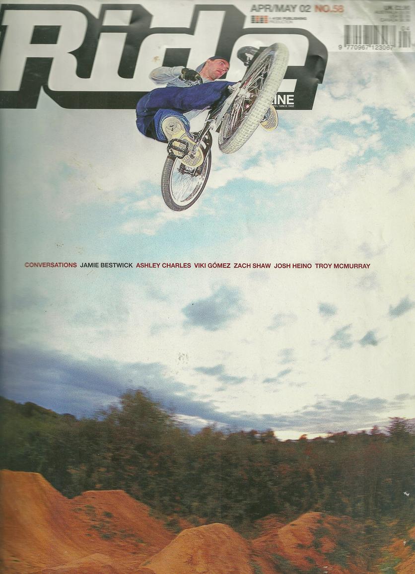 Jamie Bestwick Ride cover