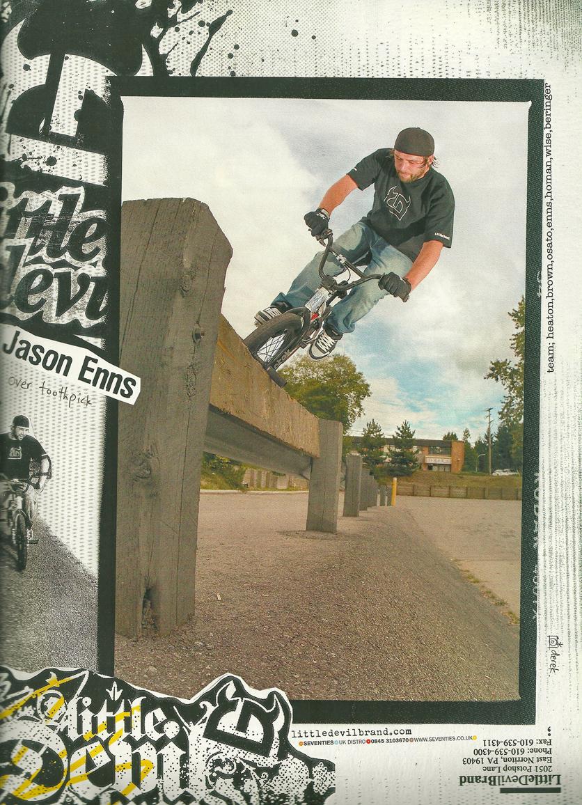Jason Enns Little Devil ad