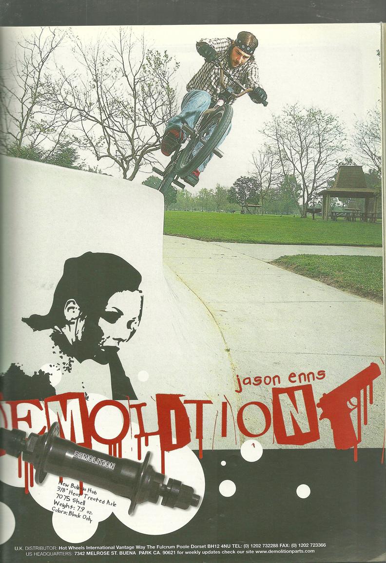 Jason Enns Demolition ad