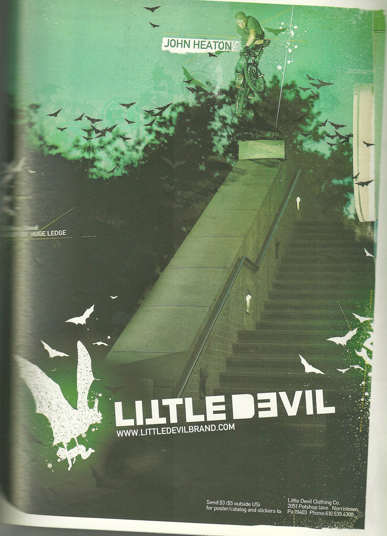 John Heaton Little Devil ad