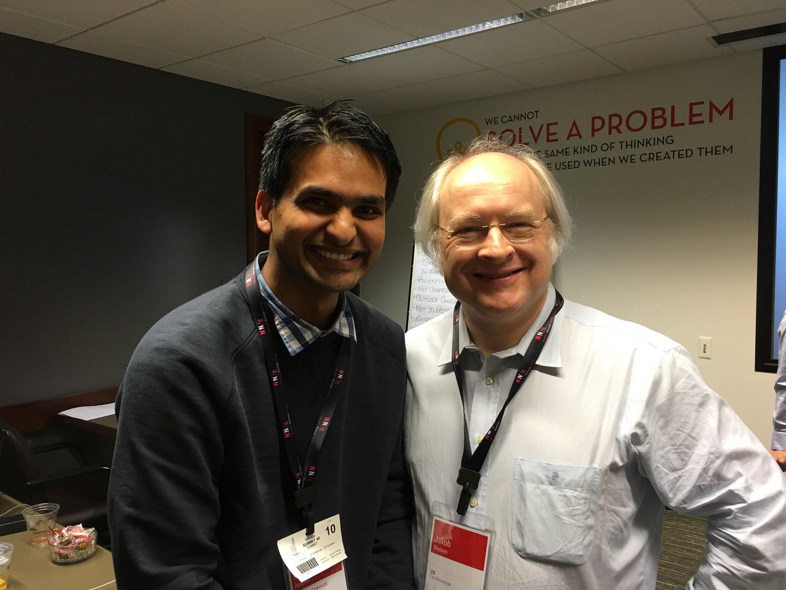 With Jakob Nielsen
