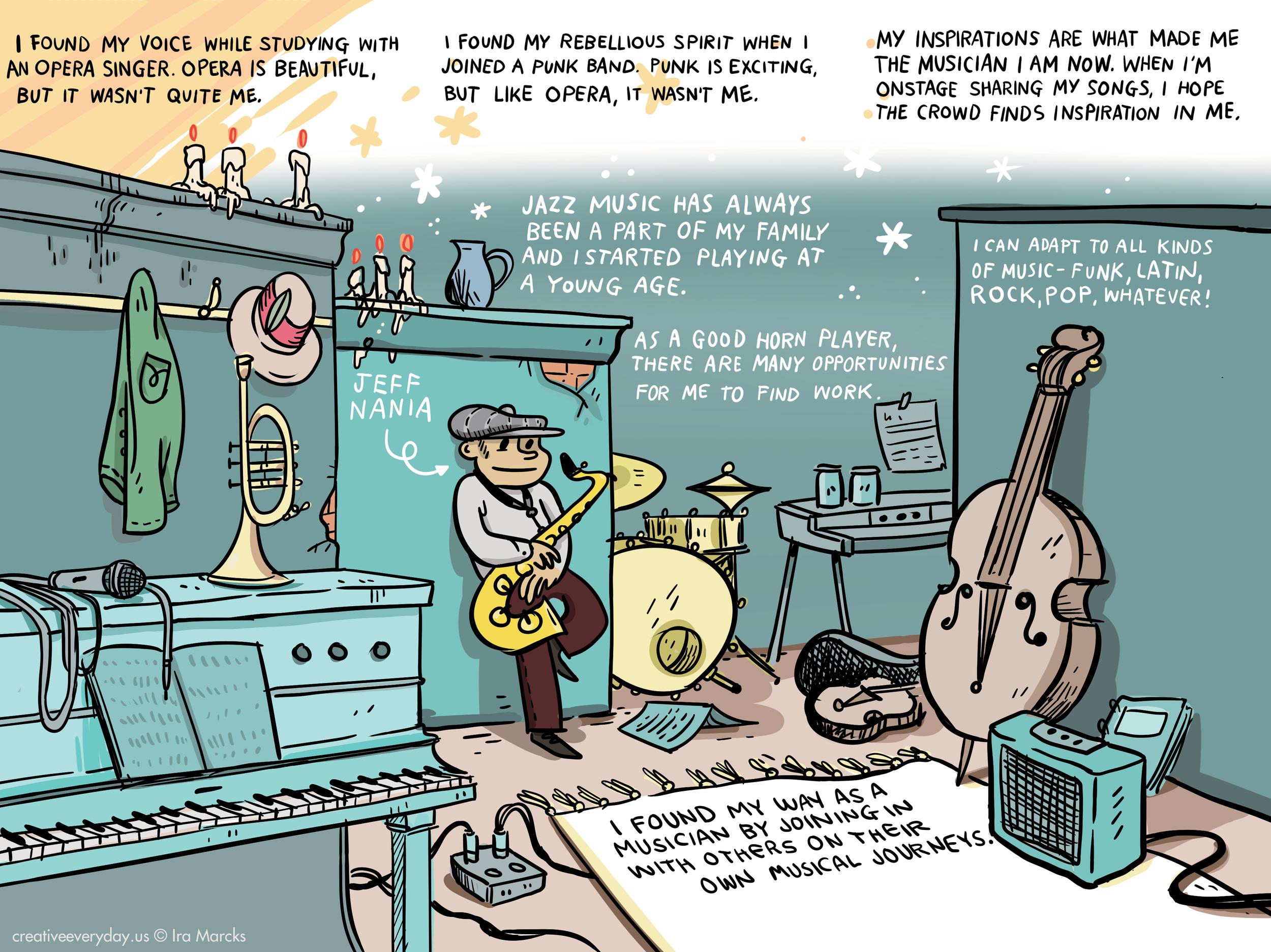 Jeff / Saxophonist