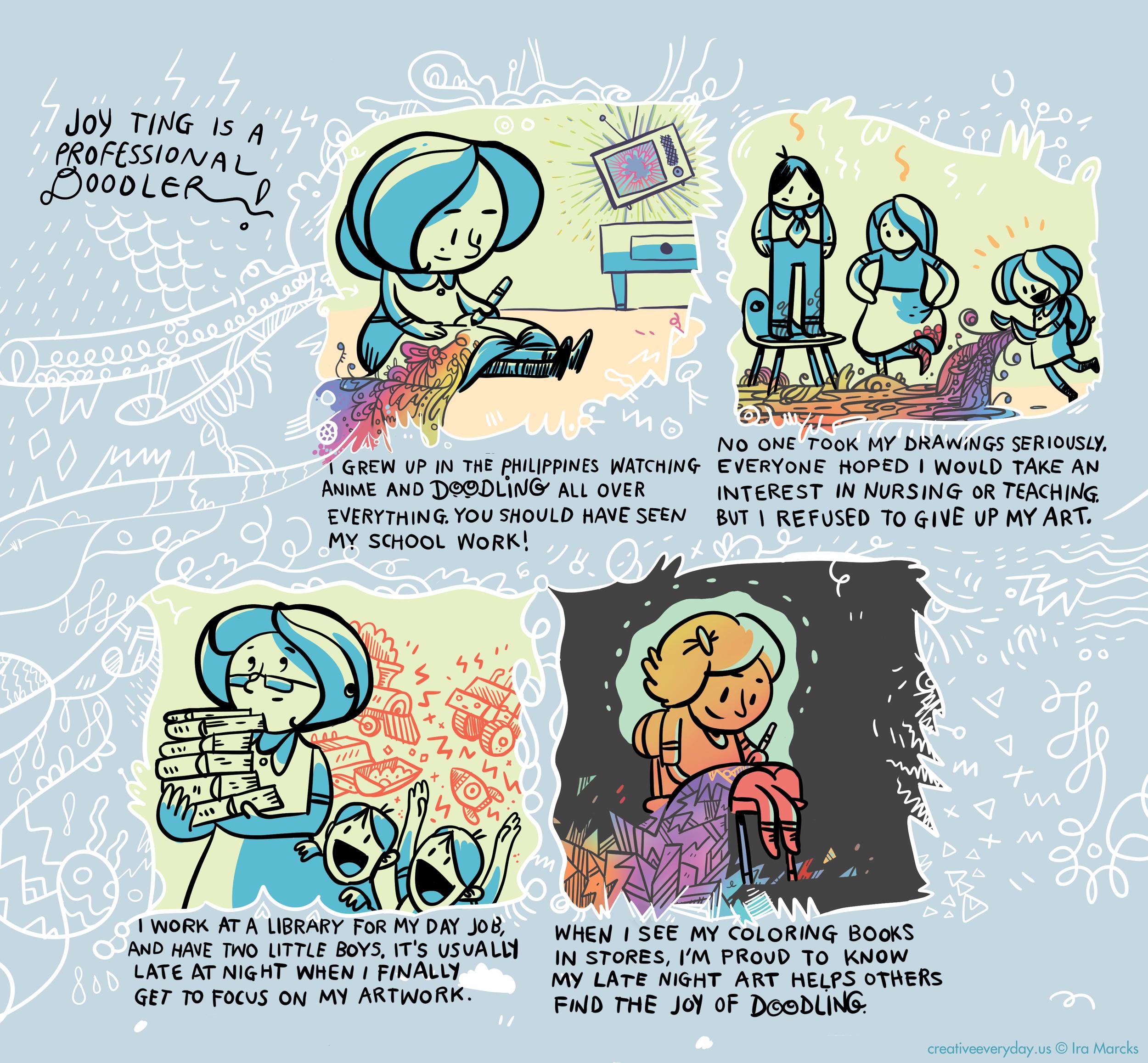 Joy / Coloring Book Artist