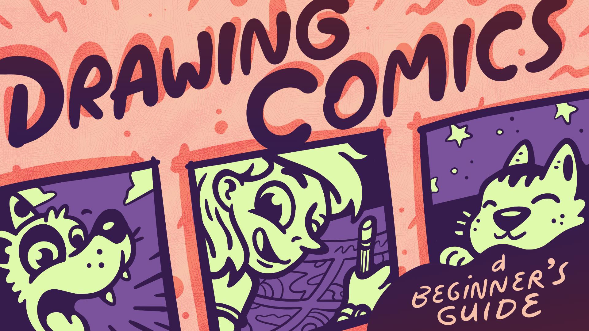 Drawing Comics - title card.png
