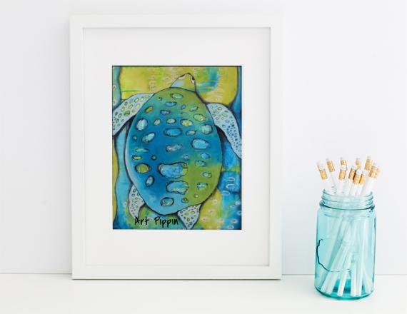 'Turtle' Print