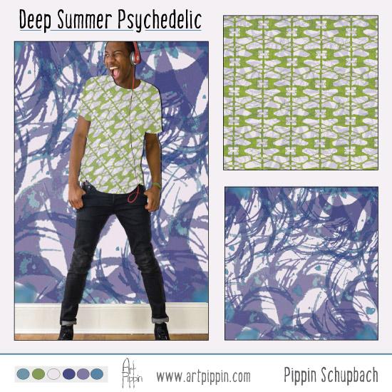 Deep Summer Board Pattern Pippin Pippin Schupbach