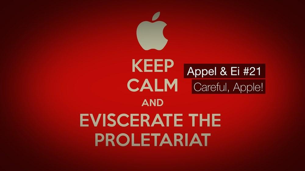 Appel & Ei #21 - Careful, Apple! - Mit Tim Krauss undChristian Heinke