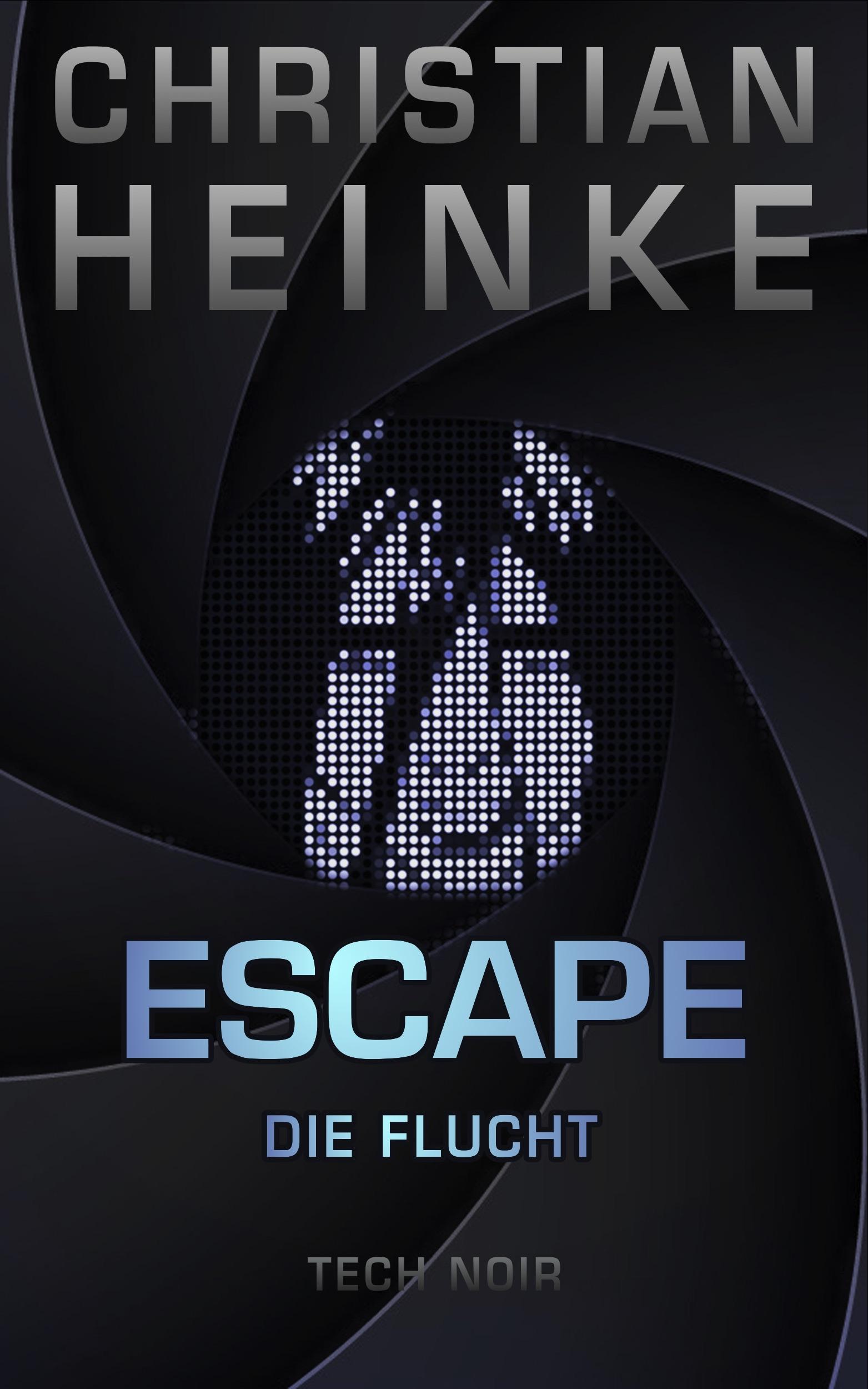 Escape Damen Sonnenbrille, Weiß glänzend, rauch: