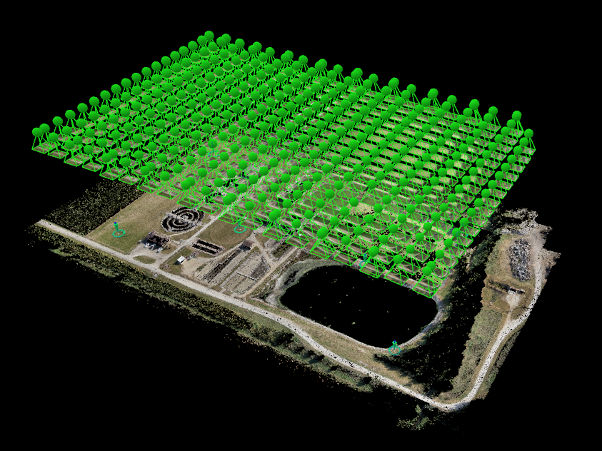 Wastewater Treatment Plant Photo Processing with Pix4D