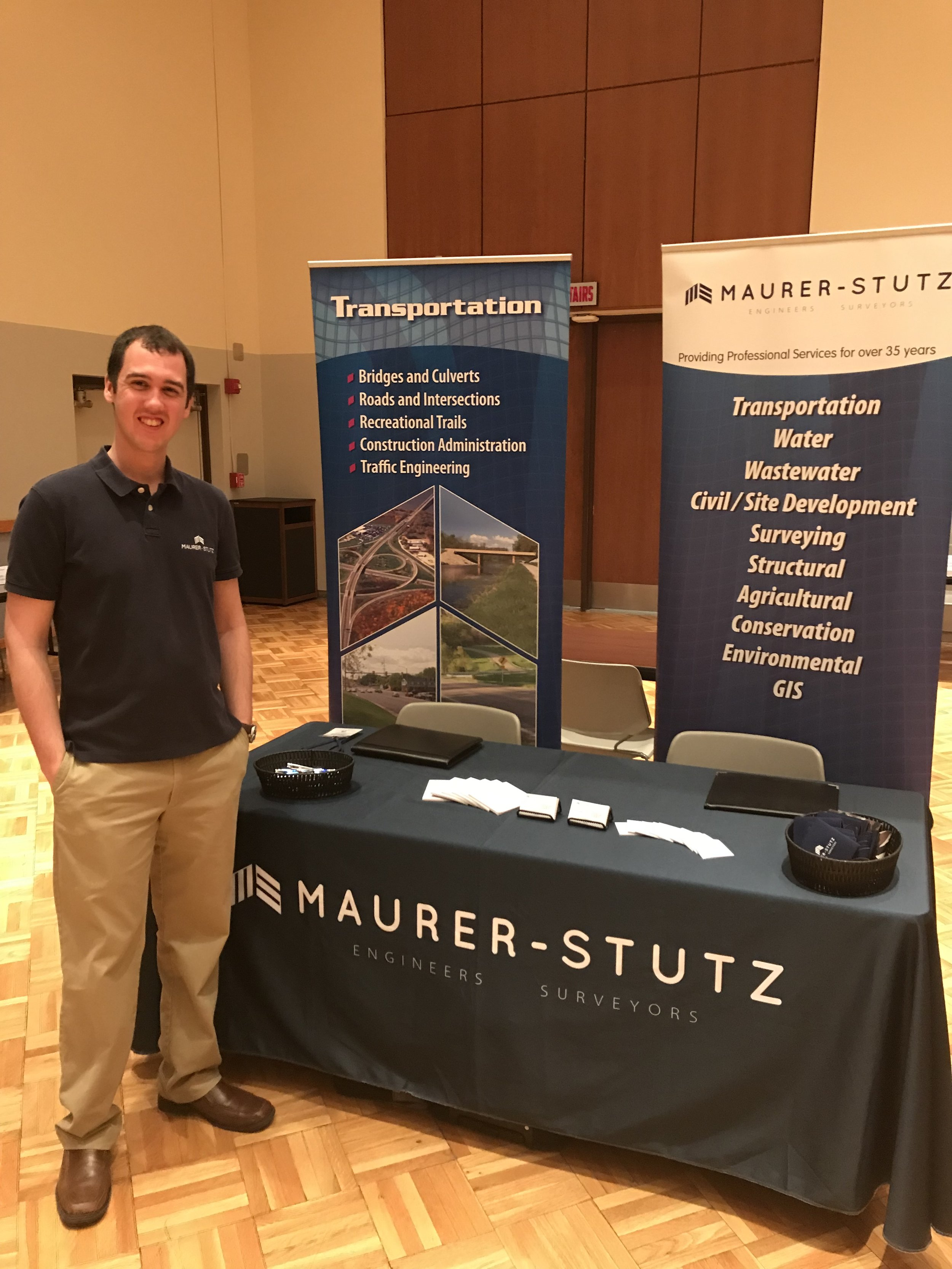 Bayler Wagehoft and Jeff Spiller represented Maurer-Stutz and the SIU-Carbondale Job and Internship Fair on Feb. 19, 2019 and will attend the Bradley University Spring Job & Internship Fair On Feb 21, 2019.