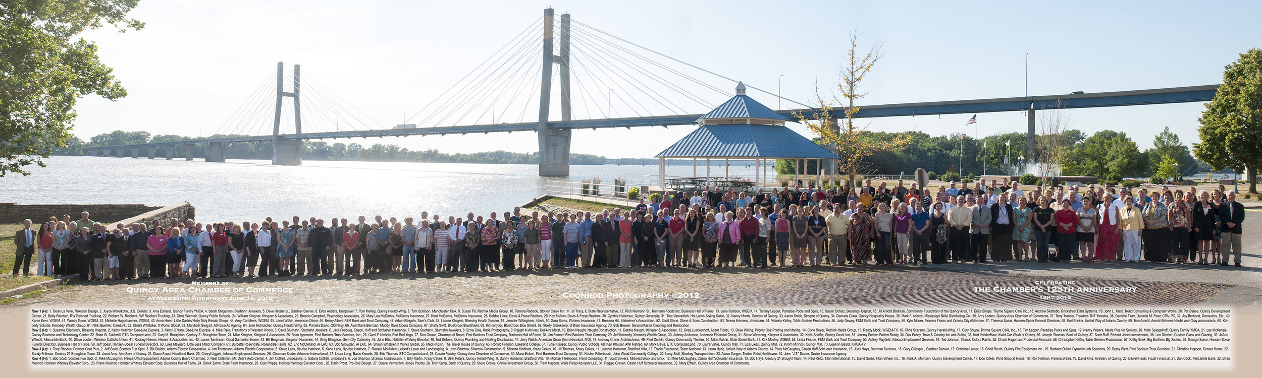 211 Members of the Quincy Chamber of Commerce