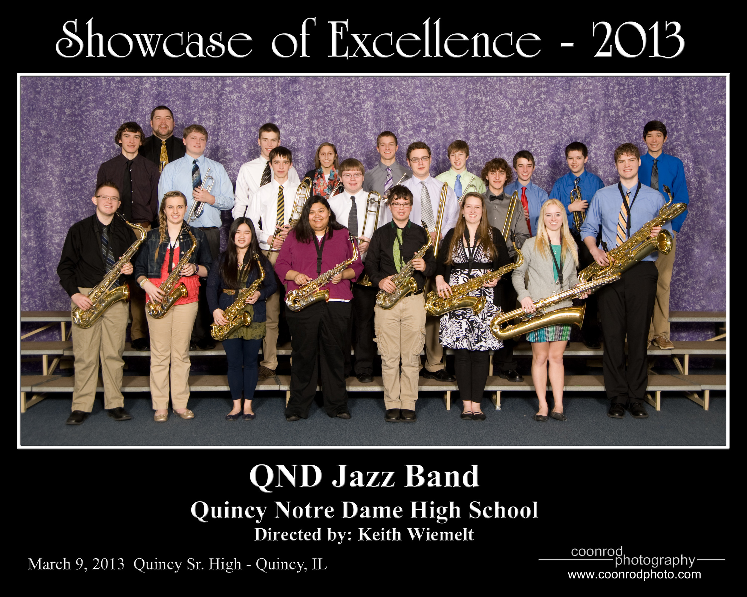 Quincy Notre Dame Jazz Band