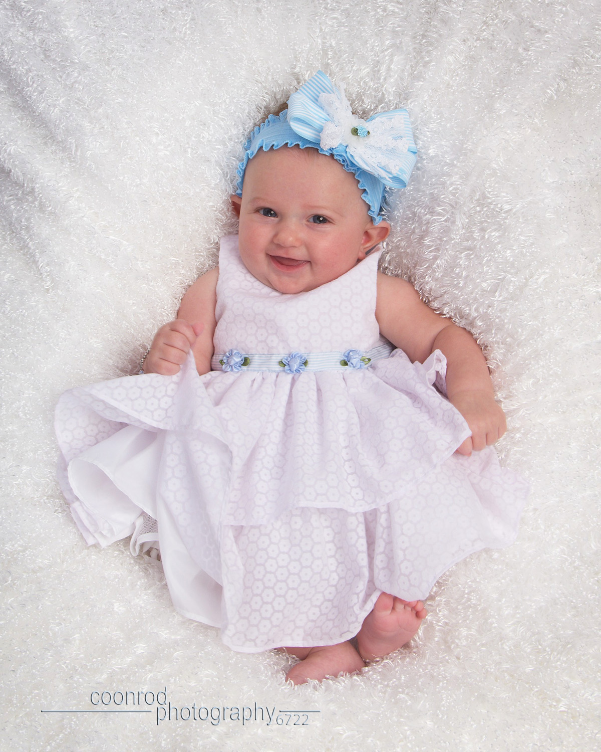 At  3 months , baby is responding to faces, smiling and laughing