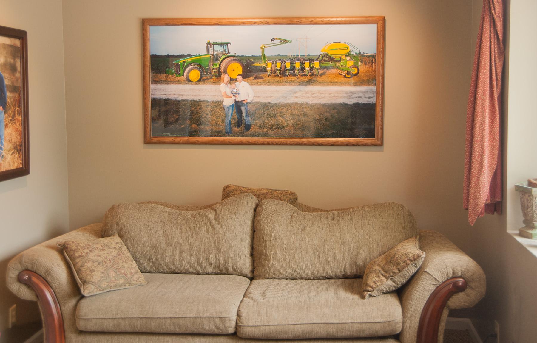 30x60 inch Family Portrait