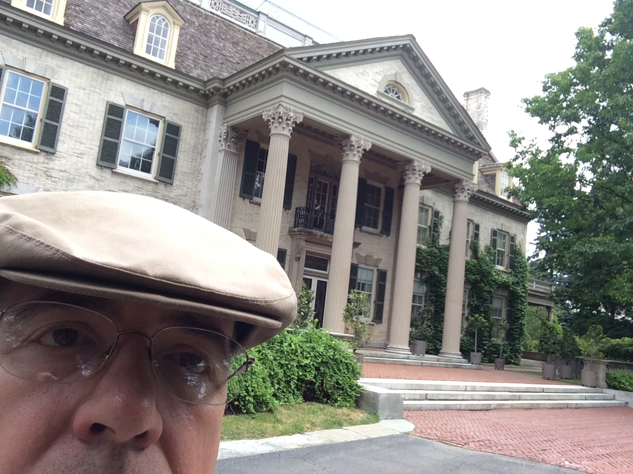 Chet's selfie at George Eastman Home