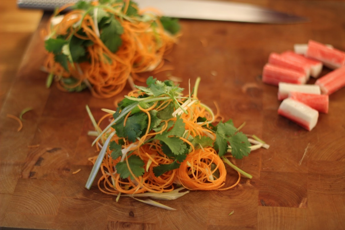 Carrot and Herbs