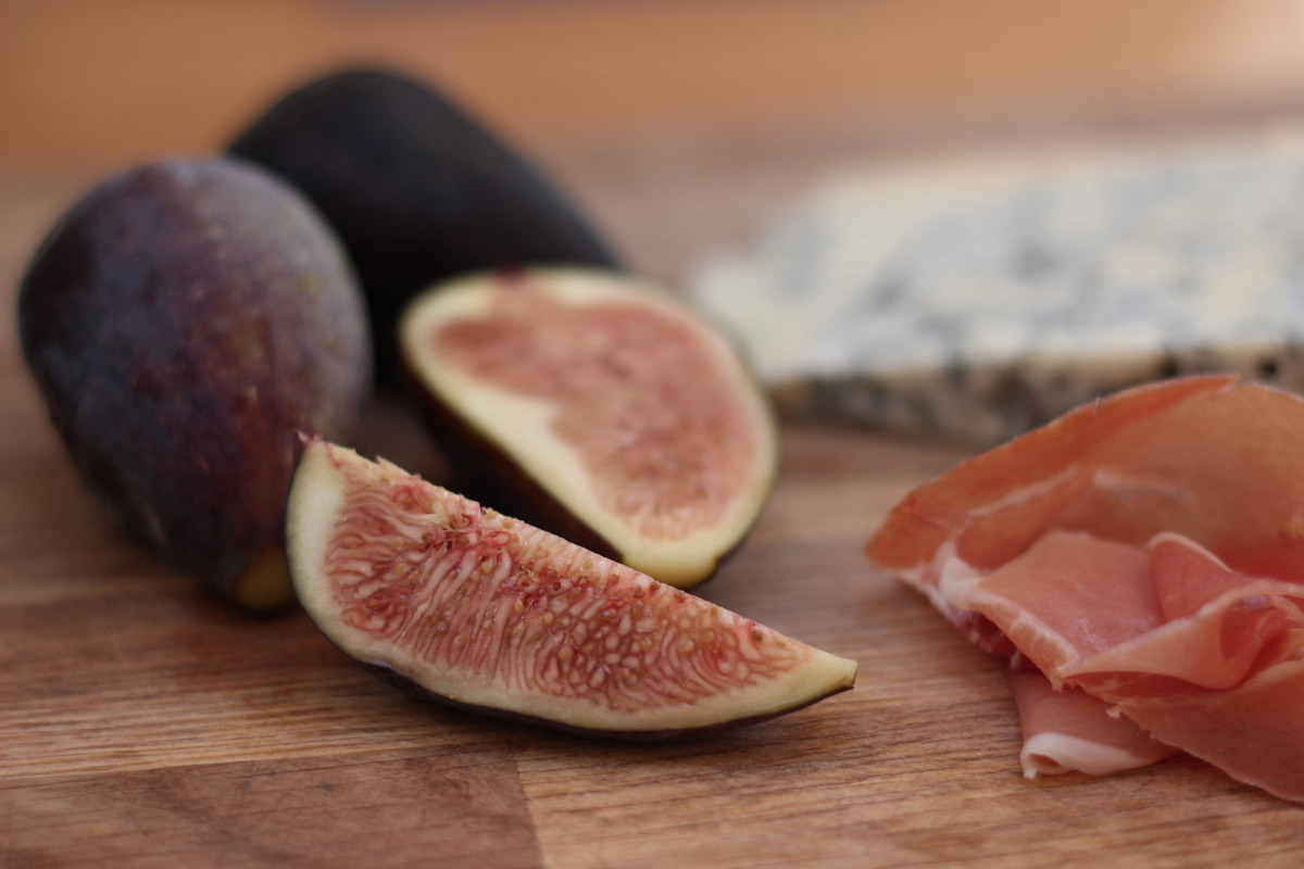 Serrano Ham, Gorgonzola and Figs