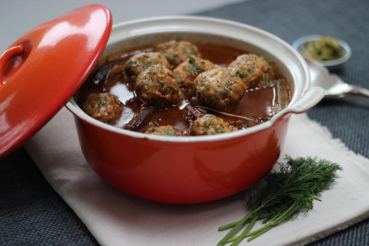 Goulash in Pot