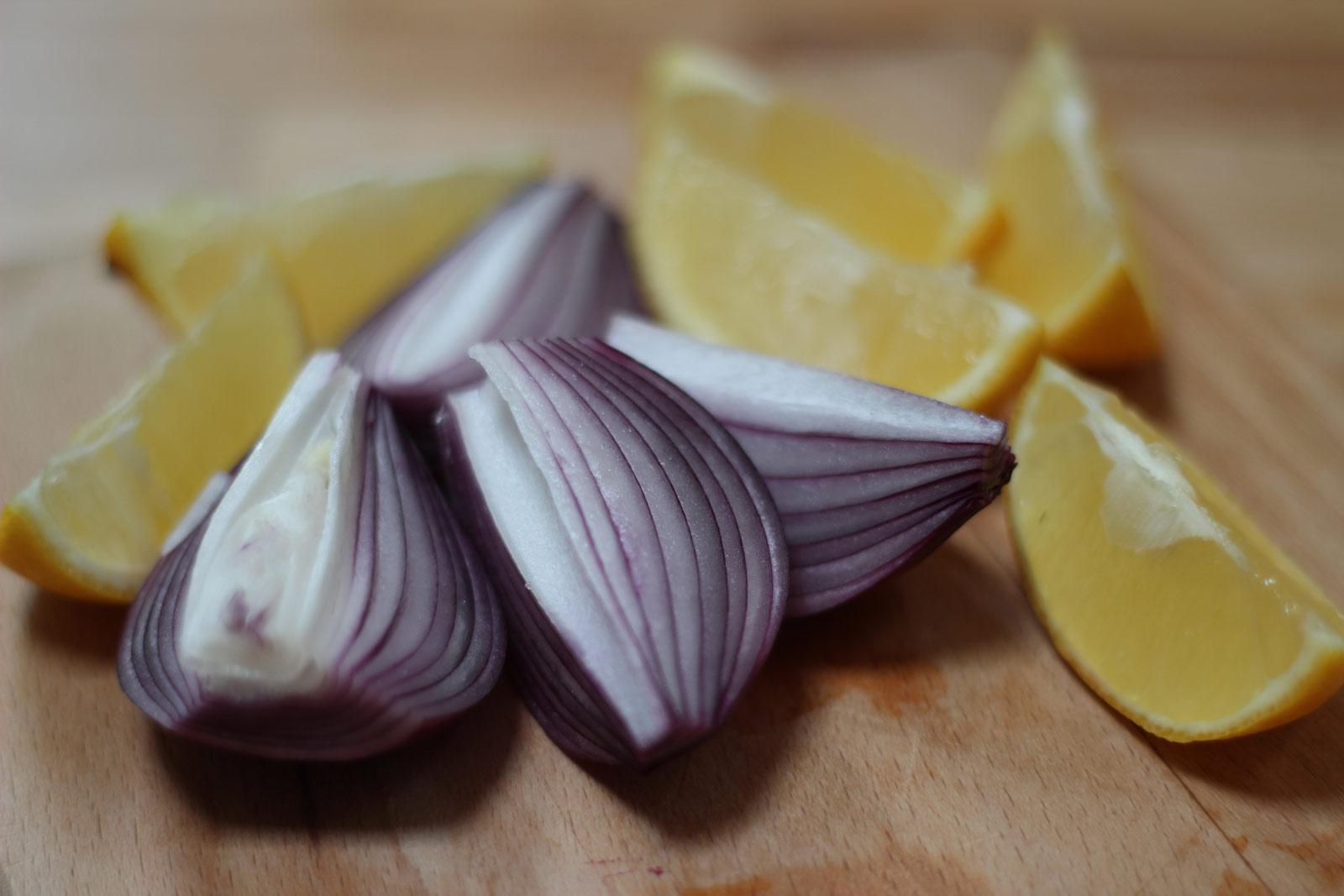 Onions + Lemons