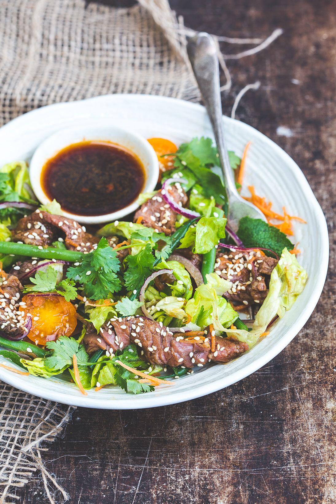 Korean Beef Salad