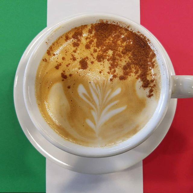 Feliz Cinco de Mayo! .  Did you know we have a permanent LATIN MOCHA LATTE on our menu? It is made with milk of choice, espresso, dark chocolate sauce, orange and cinnamon premium syrup, sprinkled with more cinnamon! Rich and spicy!😋 Order it hot or iced.