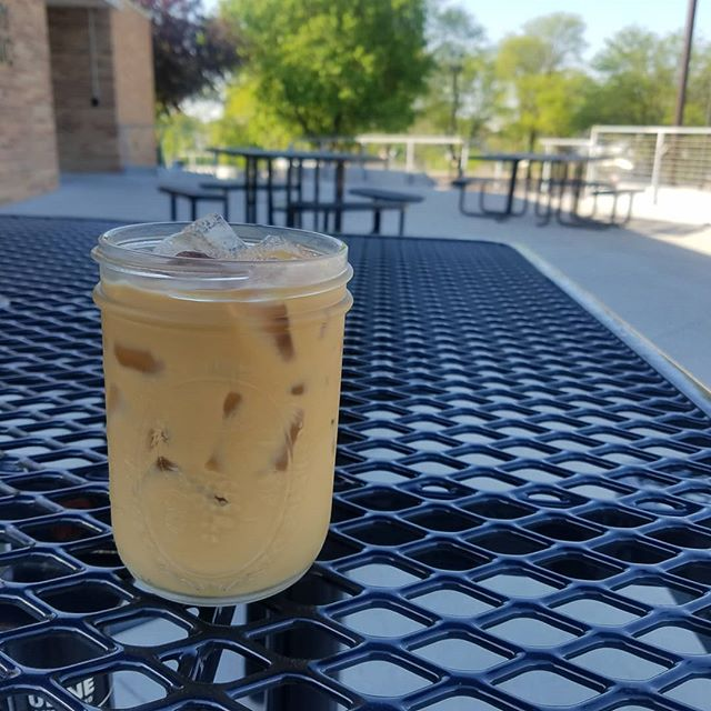 High of 95° today! Don't worry we've got you covered. Come enjoy an ICED or FROZEN beverage. Drink it here on our shaded patio, inside with the A.C or grab it to go! STAY COOL!😎