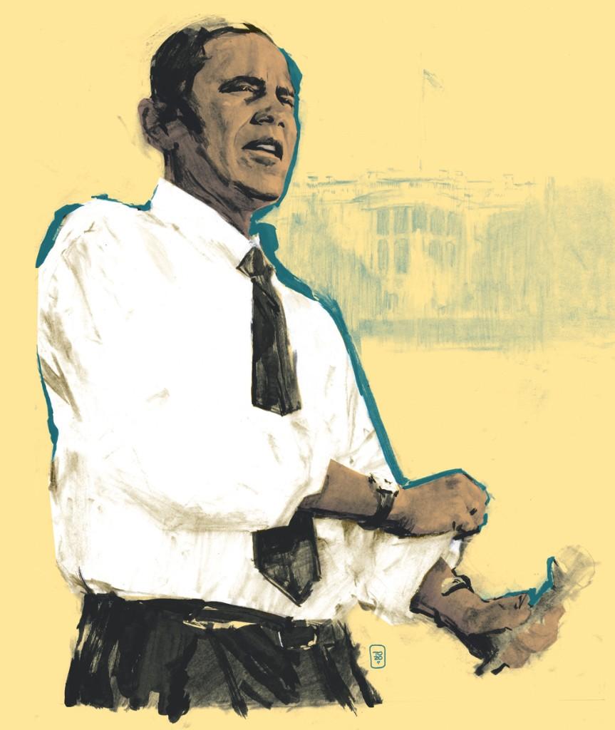 The Obama inauguration