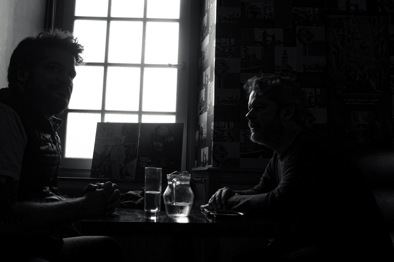 Ivan Brandon and Chris Turner