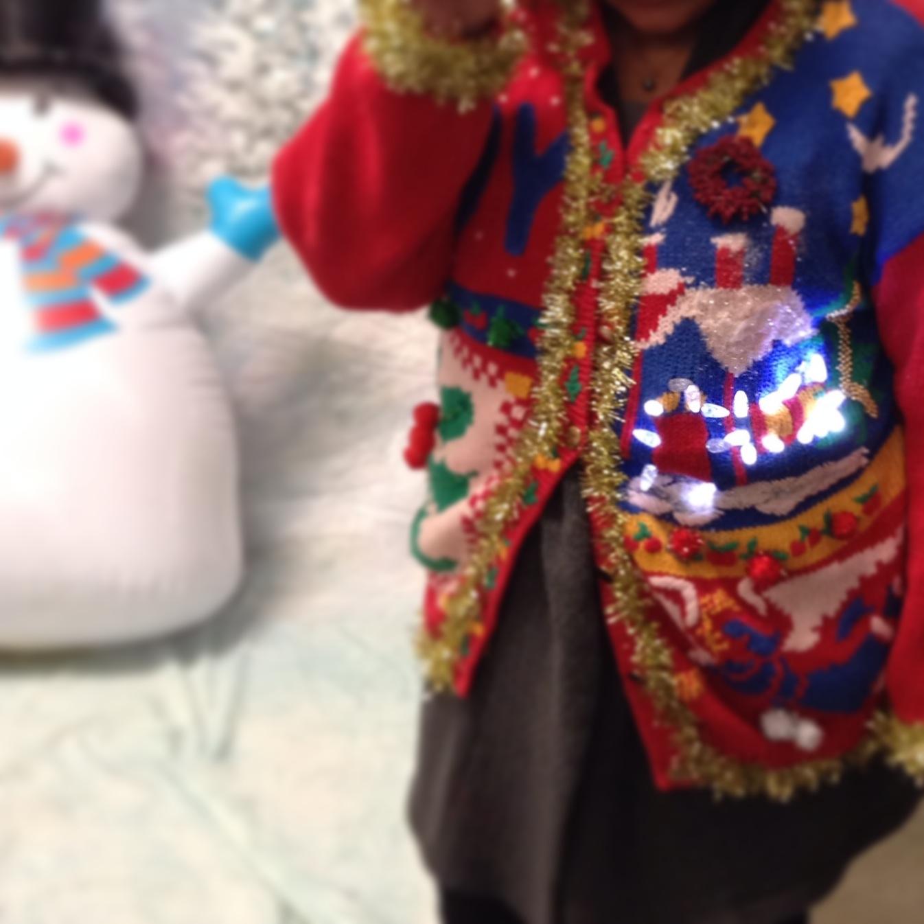 Ugly Sweater Winner!