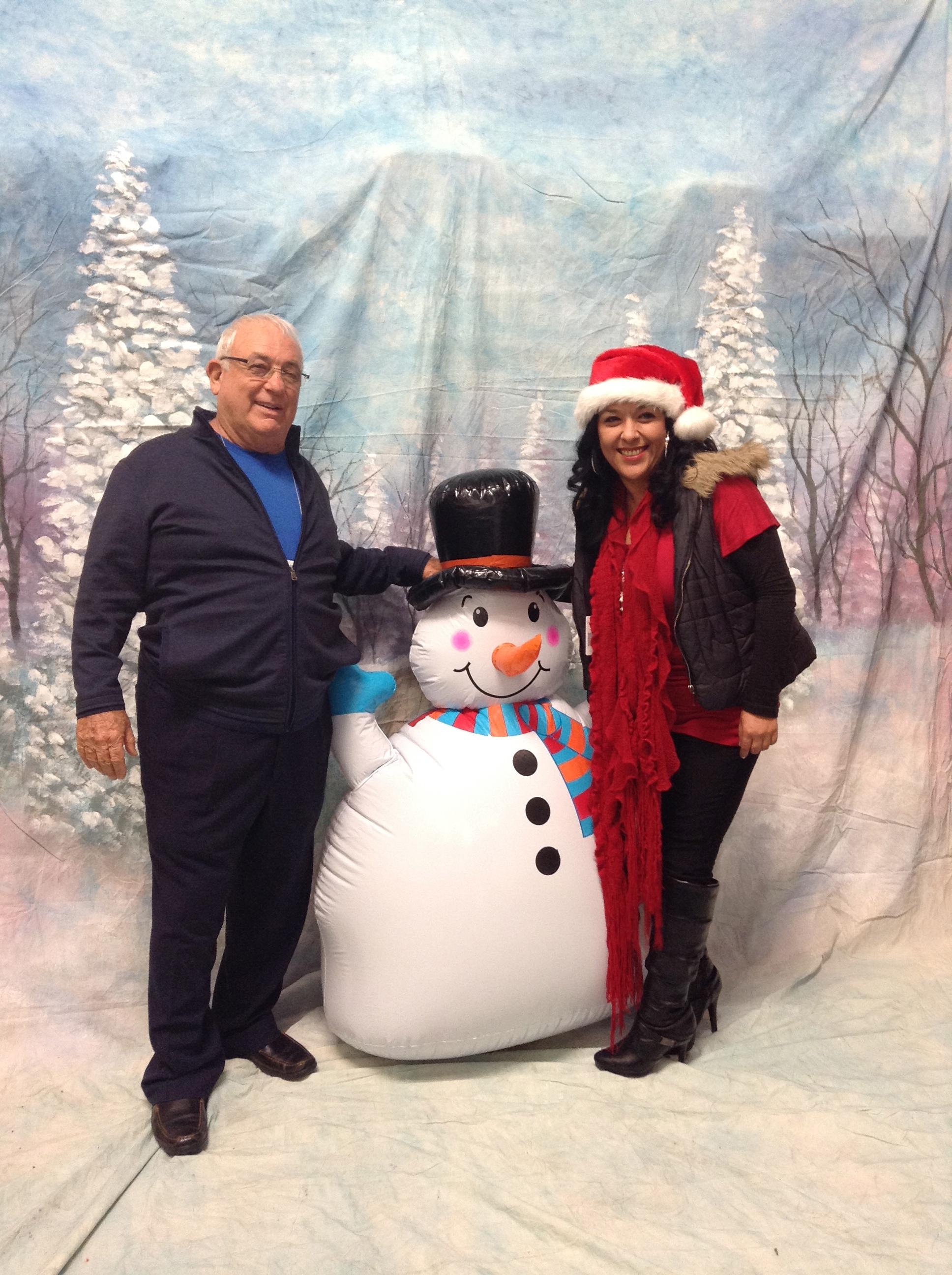 Harvey, Frosty and Angela