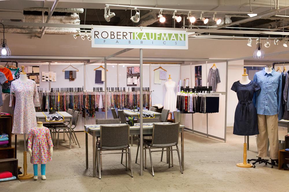 The Robert Kaufman booth